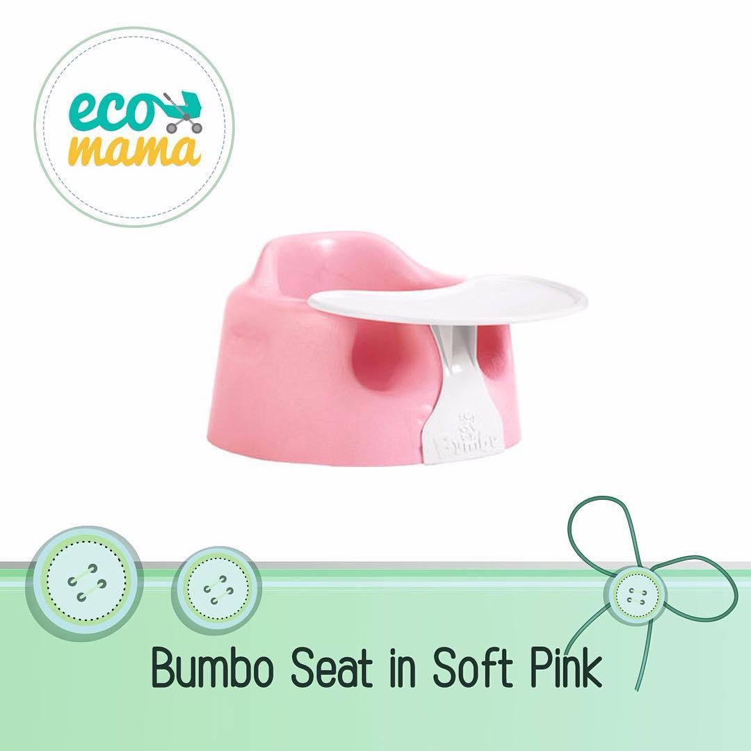 Bumbo Baby Seat with Play Tray Pink
