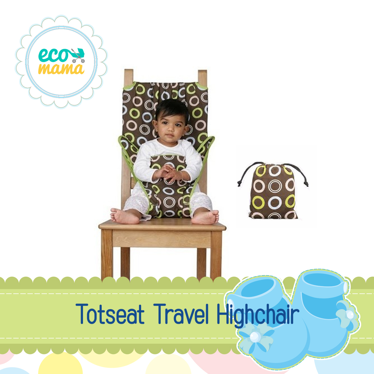 Totseat Travel High Chair