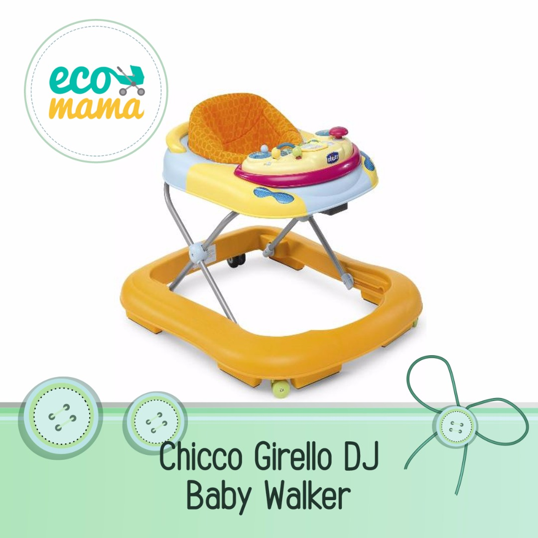 Chicco Girello DJ Babywalker in Orange