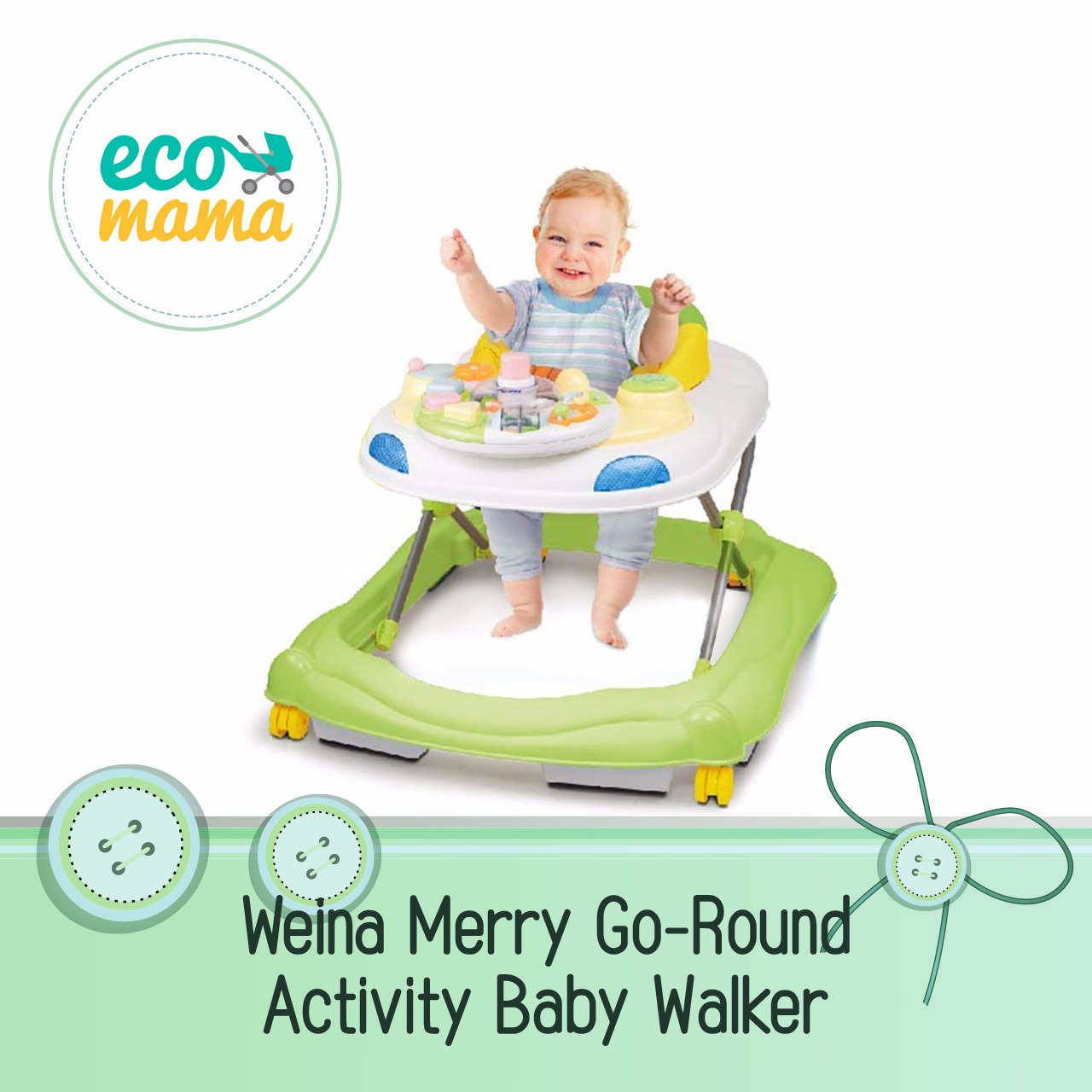 Weina Merry-Go-Round in Green