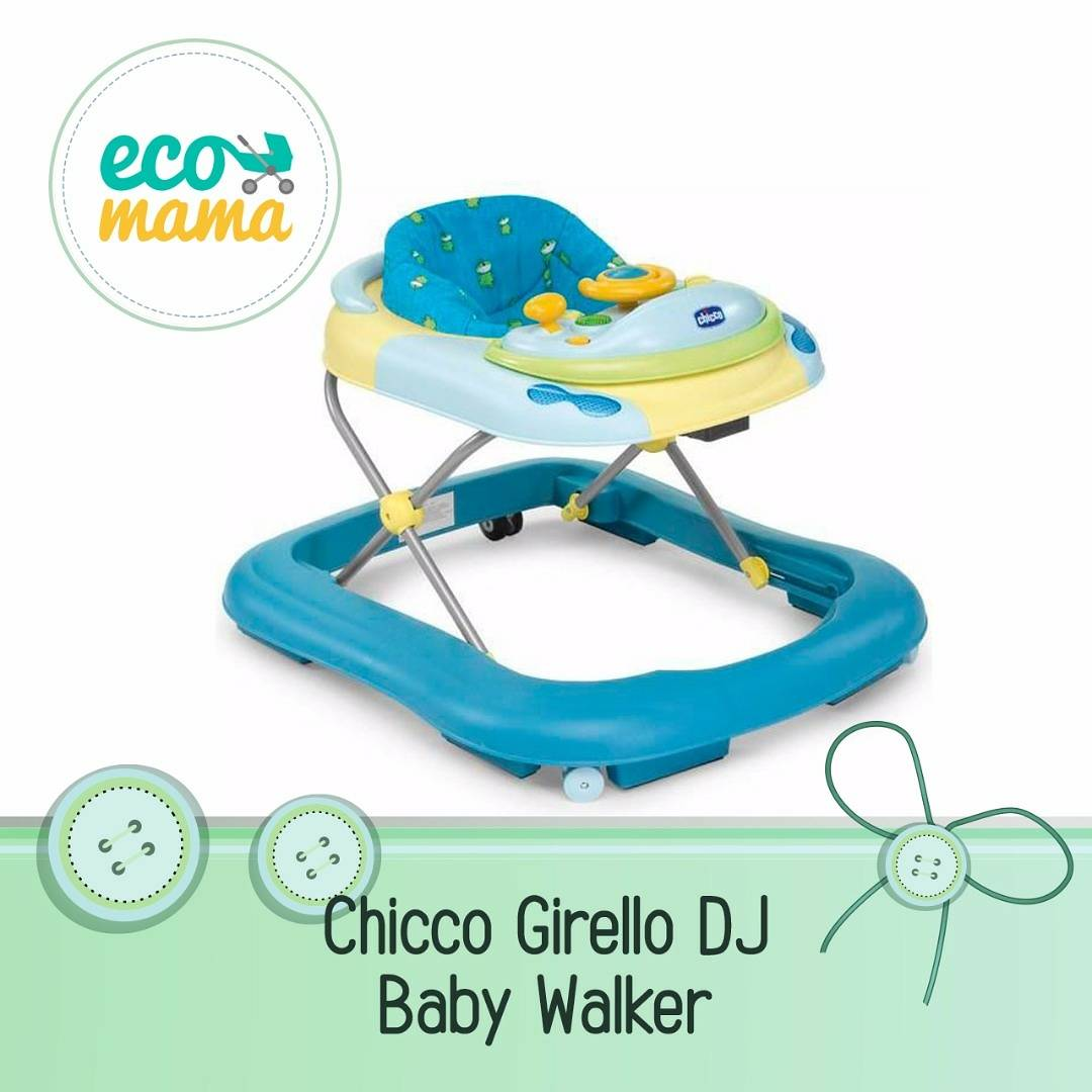 Chicco Girello DJ Babywalker in Blue