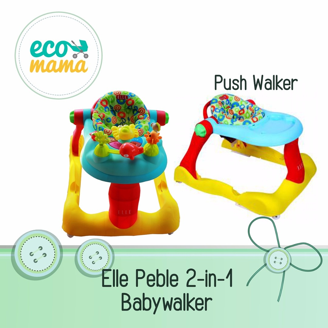 Elle Peble 2in1 Babywalker
