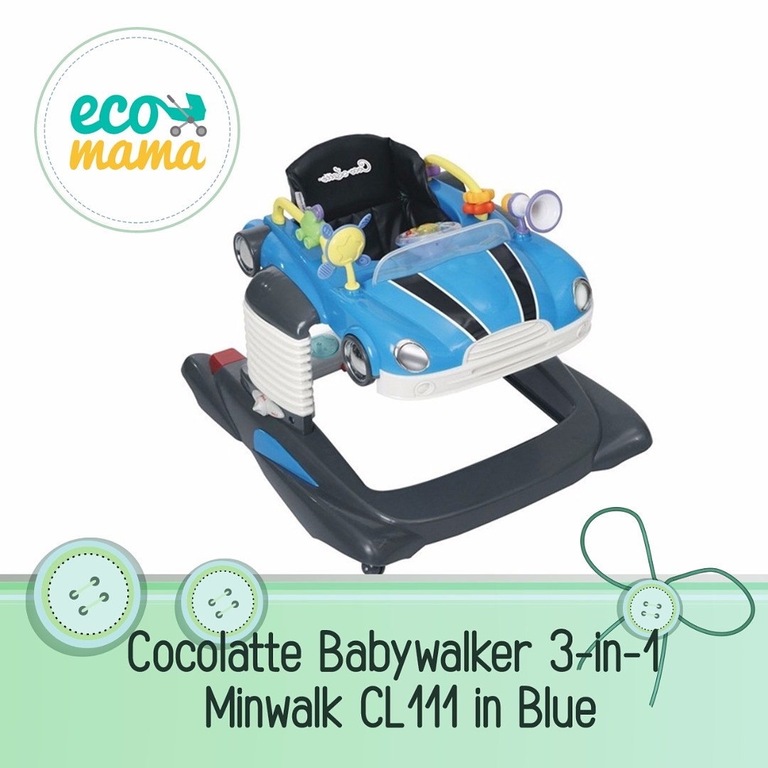 Cocolatte 3in1 Minwalk CL111 Walker in Blue