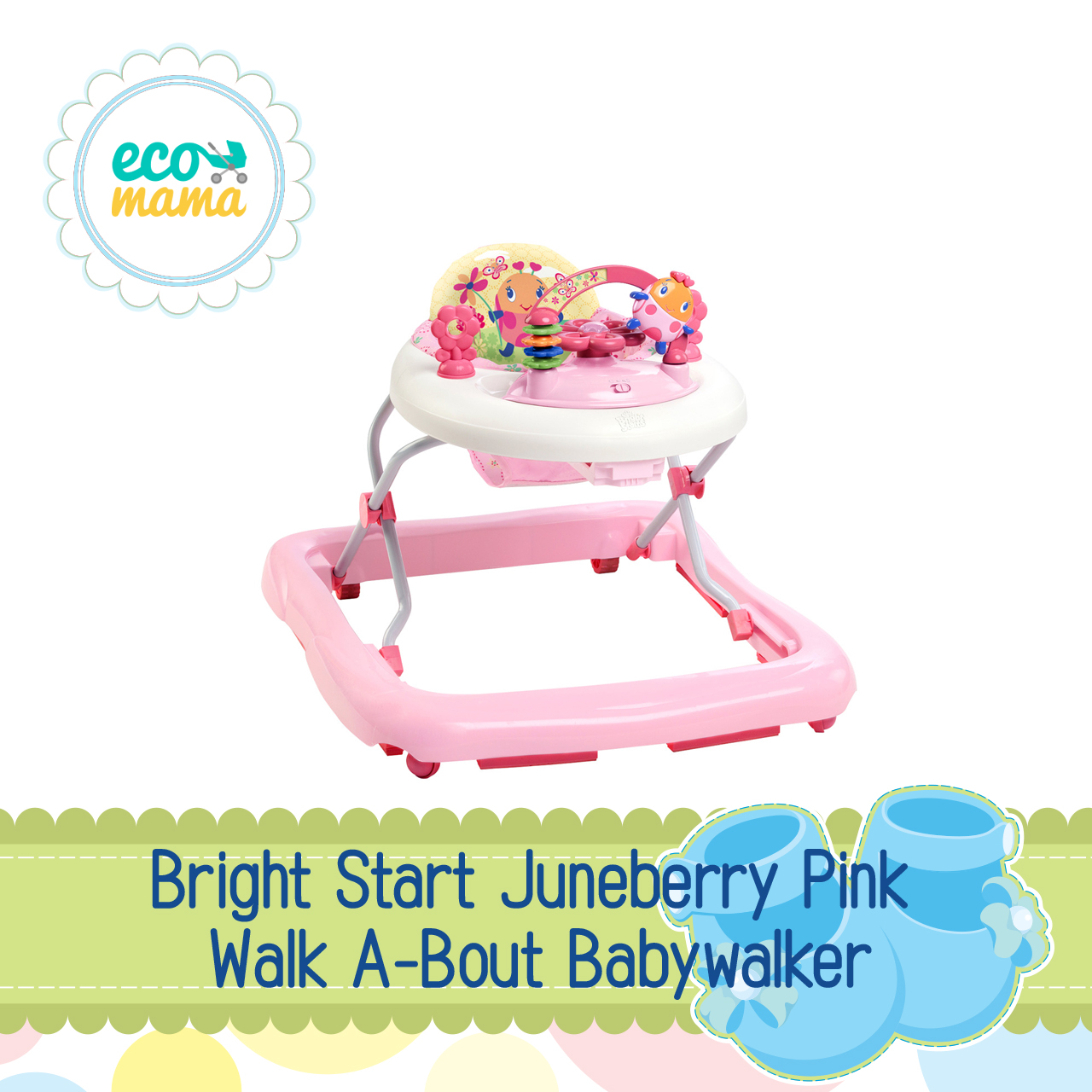 Bright Starts Juneberry Delight Walker