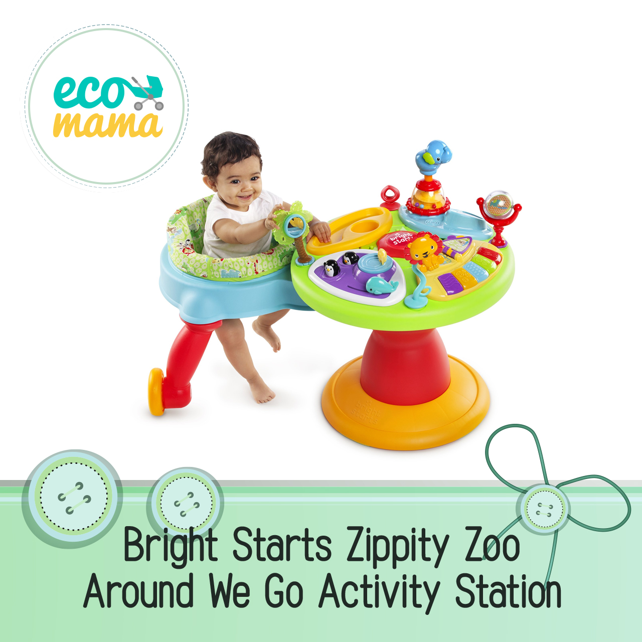 Bright Starts Zippity Zoo Around We Go