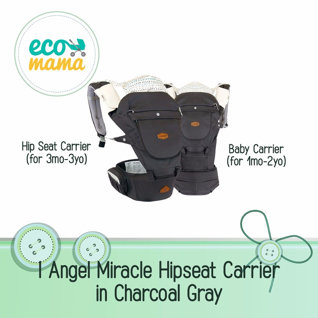 i-Angel Miracle Baby Carrier in Stone Blue