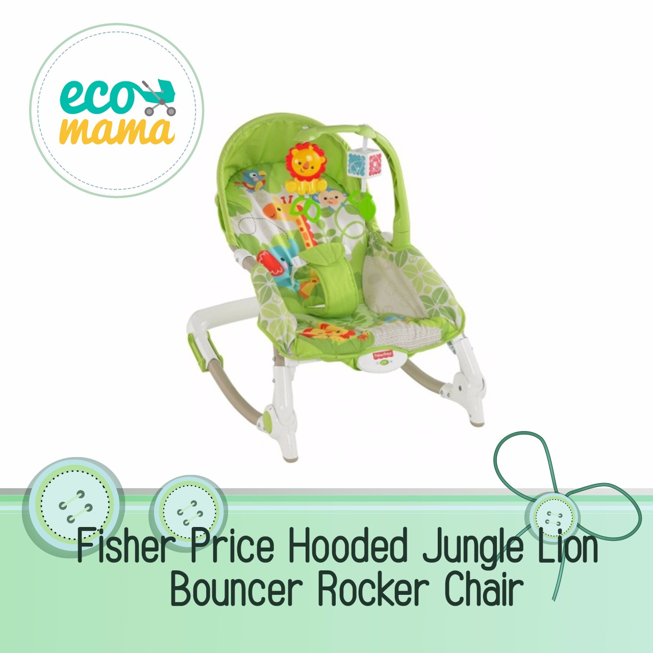 Fisher Price Jungle Lion Rocker Bouncer