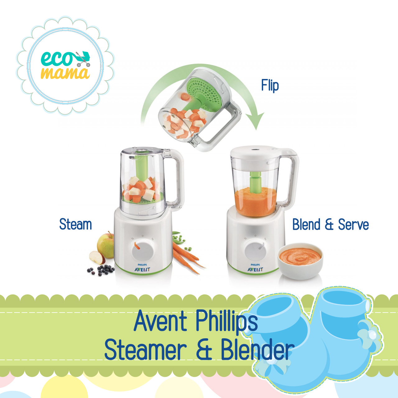Avent Philips Steamer and Blender