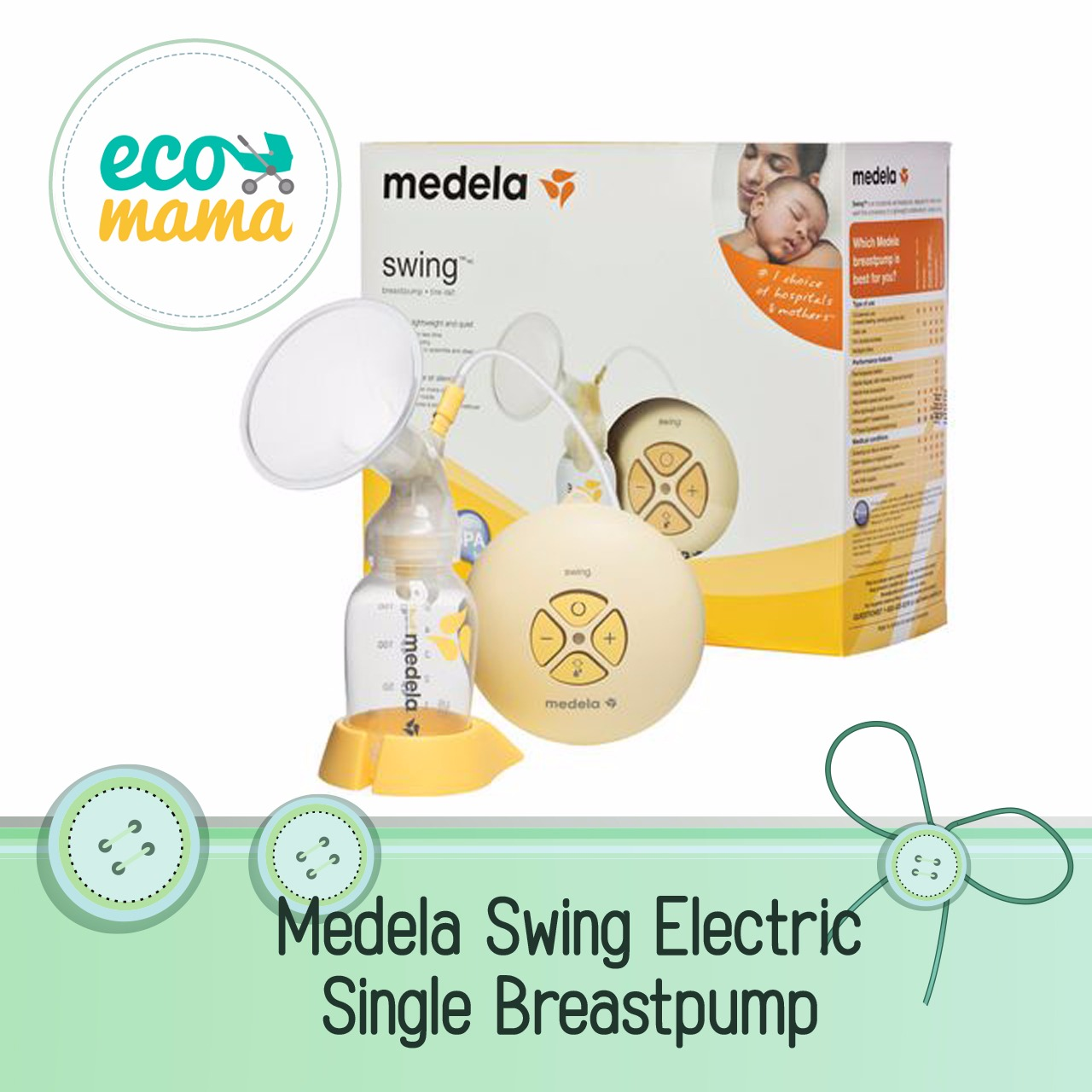 Medela Swing Maxi & Calma, Double Electric, 2 phase