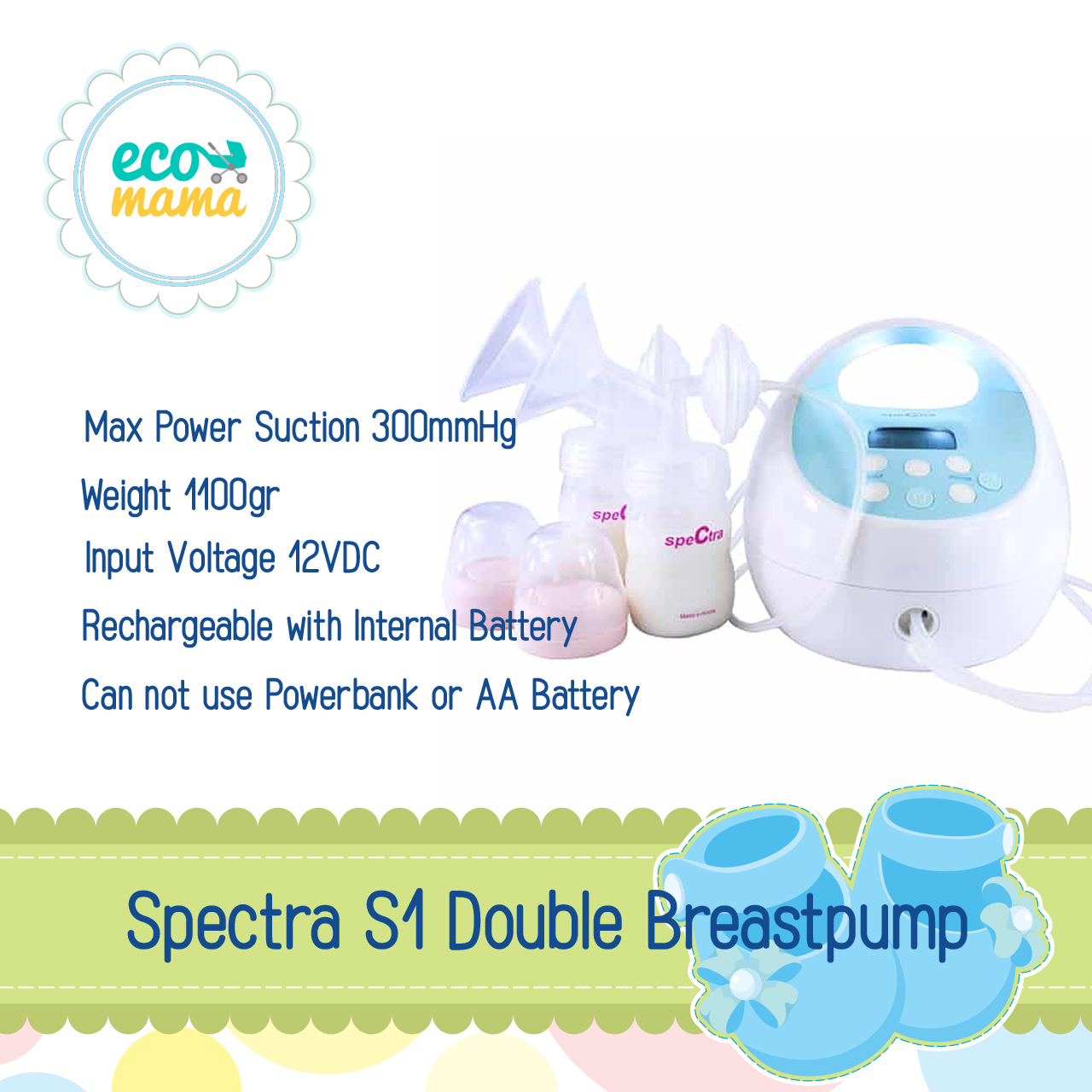 Spectra S1 Double Breastpump