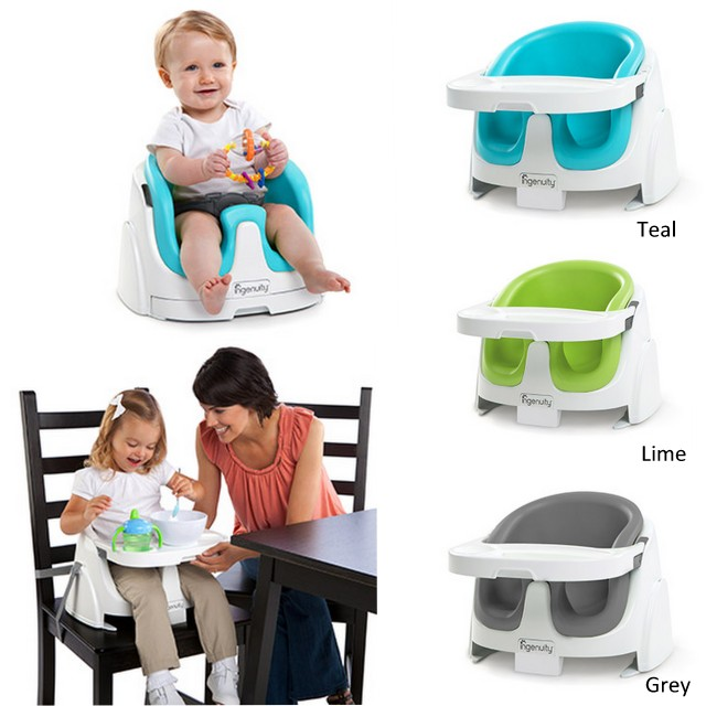 Ingenuity Baby Base 2 in 1 in Grey