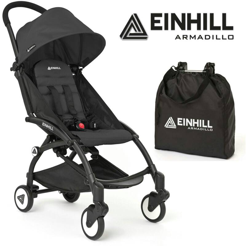 Einhill Armadillo 6+ in Black