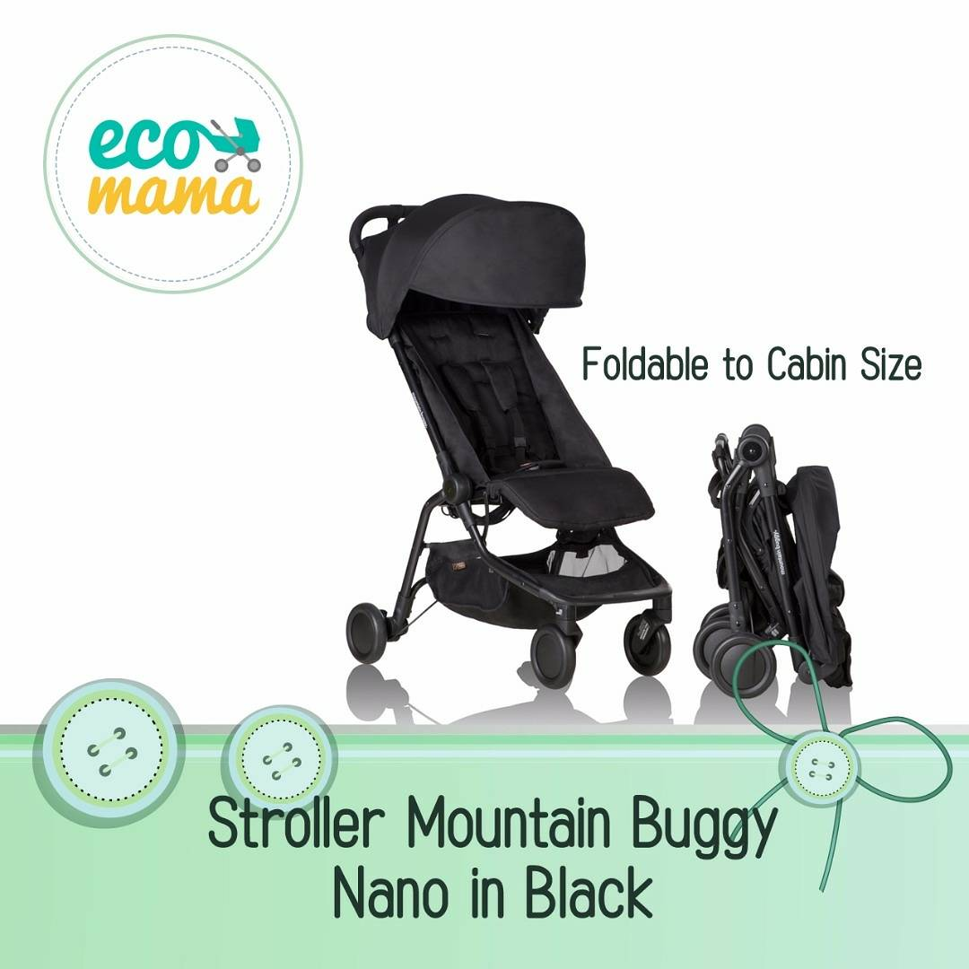 Mountain Buggy Nano Stroller Black