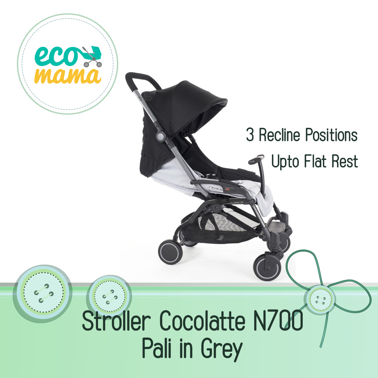 Cocolatte Pali N700 in Grey