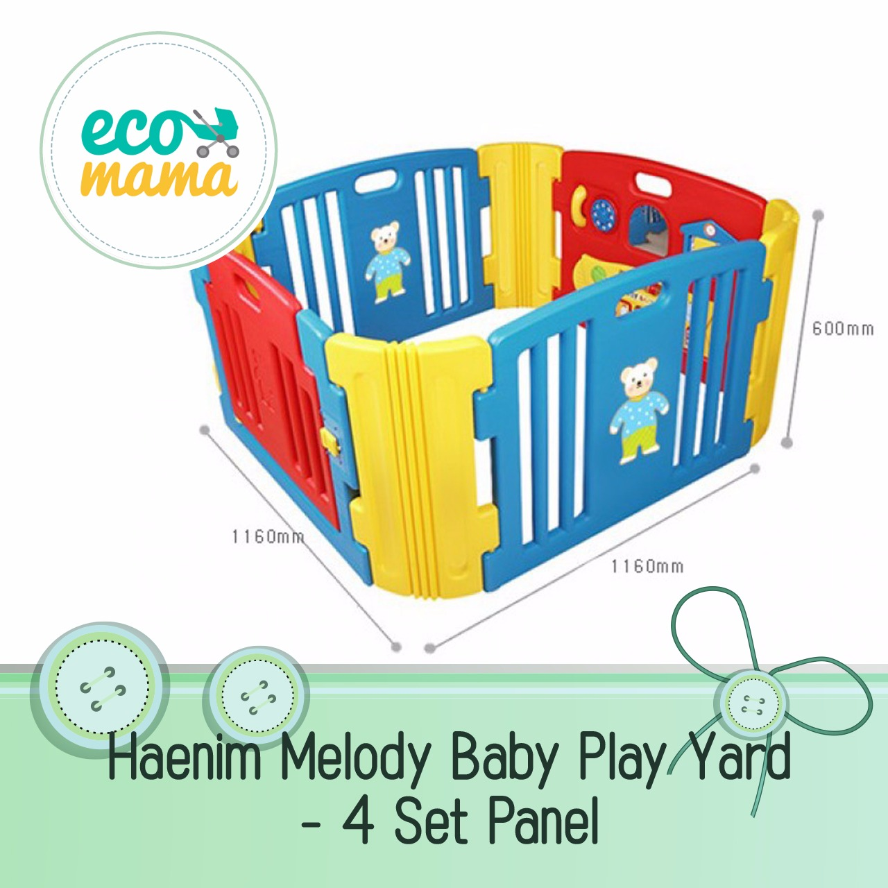 Haenim Melody Play Yard