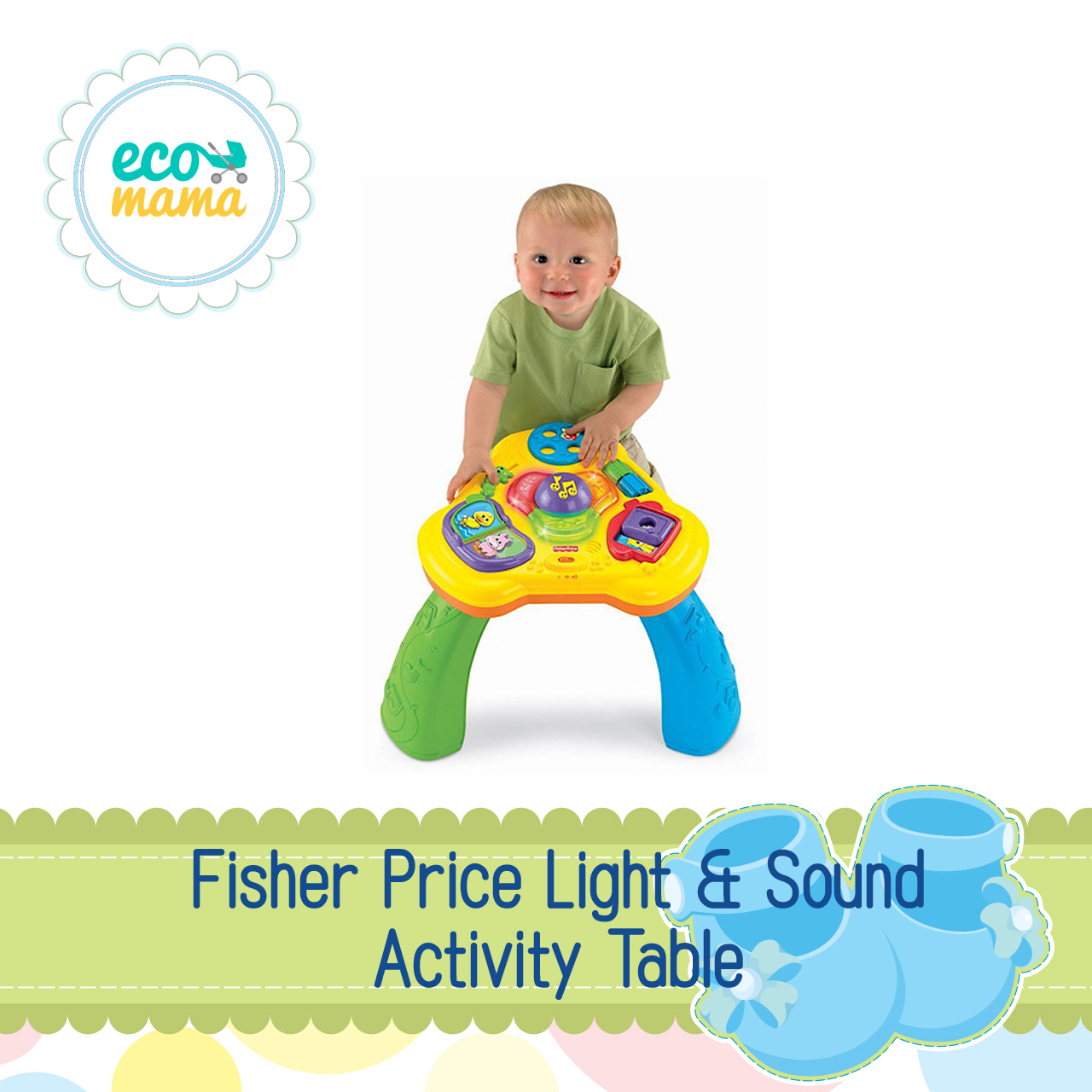 Fisher Price Light and Sound Activity Table