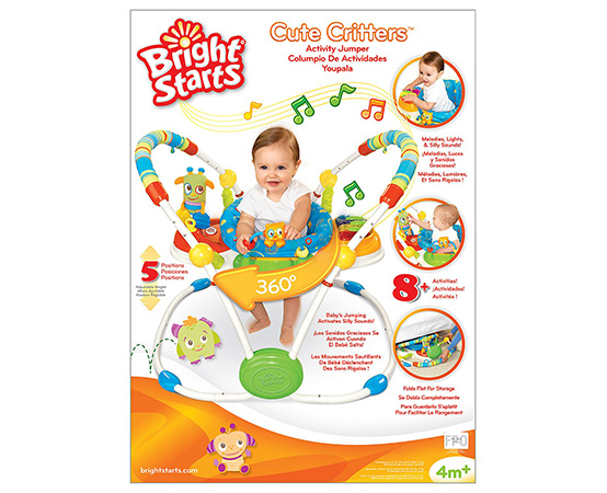 Bright Starts Cute Critters Jumper