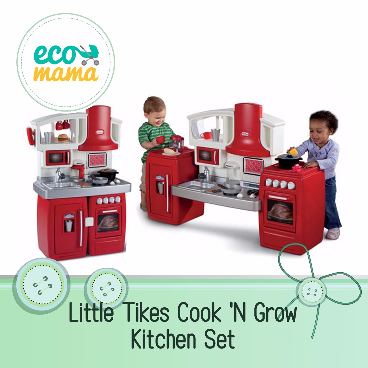 Ecomama Indonesia Little Tikes Cook Grow Kitchen